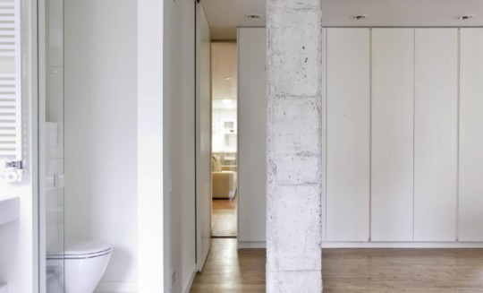 Vista parcial Reforma Integral piso Bonanova